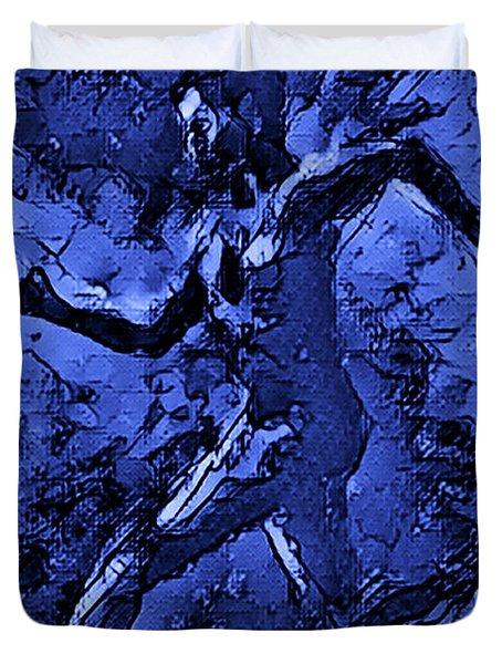 Moon Runner Duvet Cover