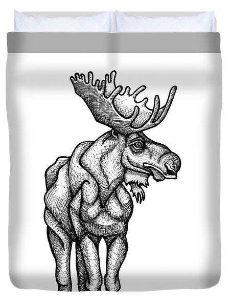 Moose Duvet Cover