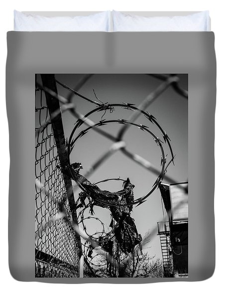 More Barriers Duvet Cover