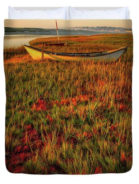 Morning Dory Duvet Cover