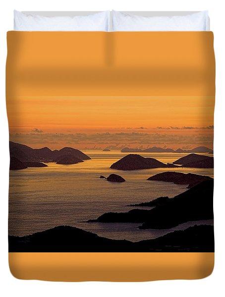 Morning Islands Duvet Cover