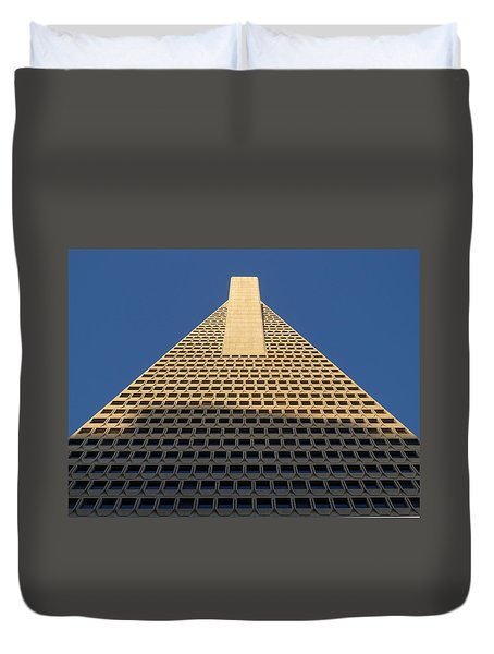Morning Mammon Duvet Cover