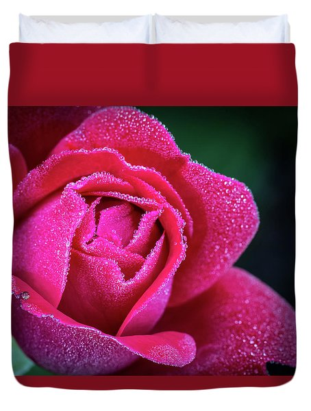 Morning Rose Duvet Cover