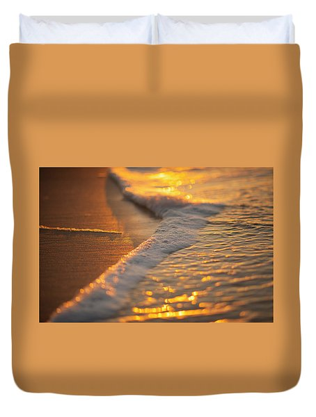 Morning Shoreline Duvet Cover