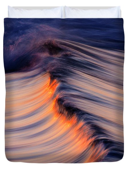 Morning Wave Duvet Cover