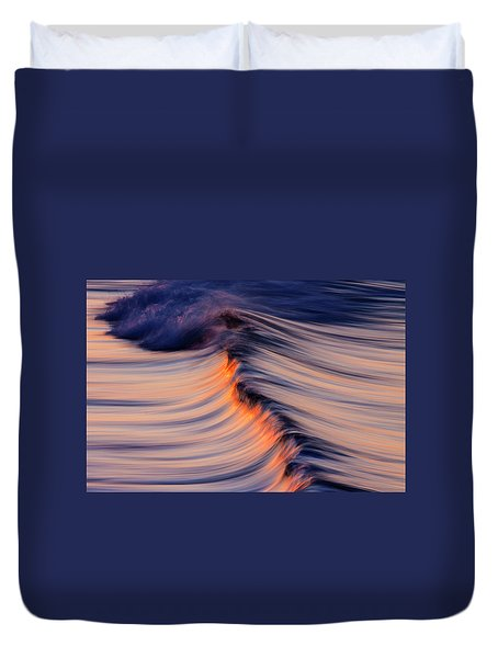 Morning Wave Duvet Cover