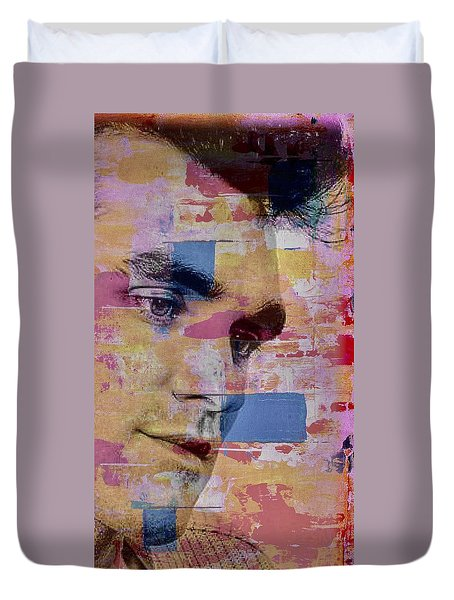 Morrissey Around Town Duvet Cover
