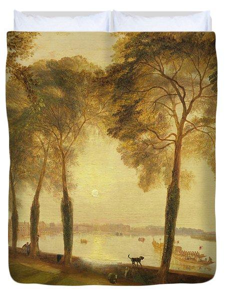 Mortlake Terrace, 1827 Duvet Cover