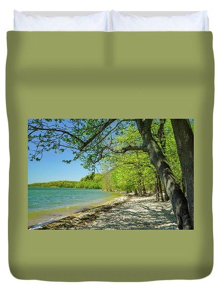 Moss Creek Beach Duvet Cover