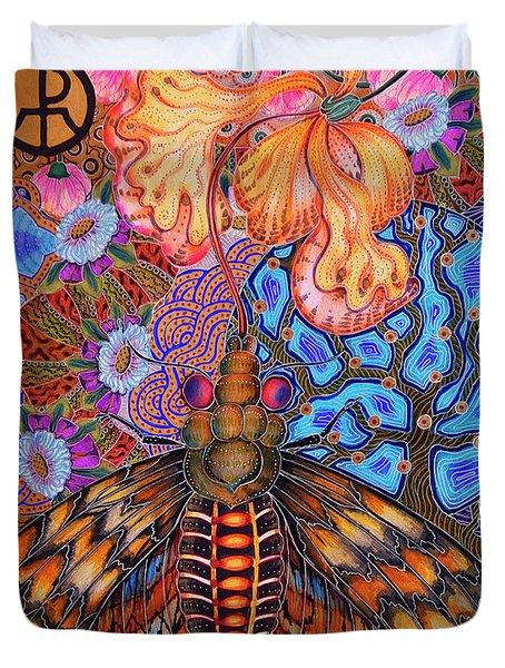 Moth Duvet Cover