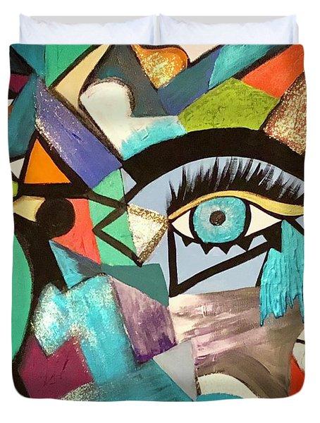 Motley Eye 4 Duvet Cover