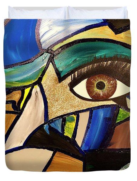 Motley Eye 5 Duvet Cover