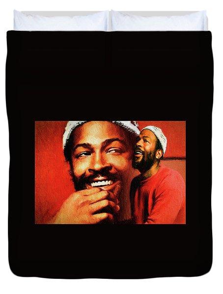 Motown Genius Duvet Cover
