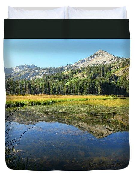 Mount Millicent Reflection Duvet Cover