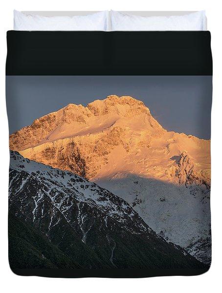 Mount Sefton Sunrise Duvet Cover