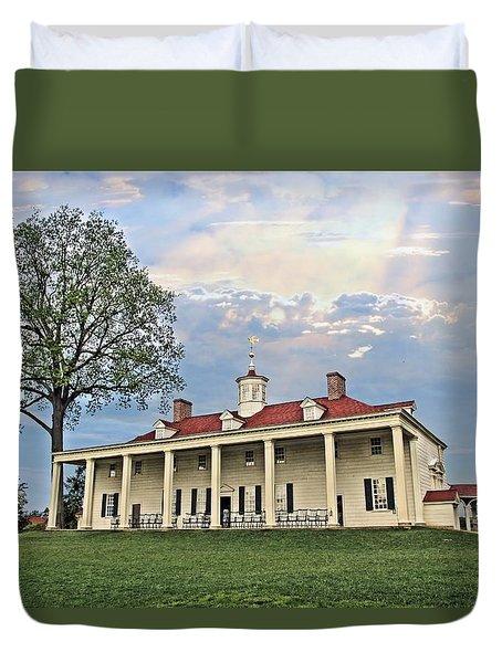 Mount Vernon Duvet Cover