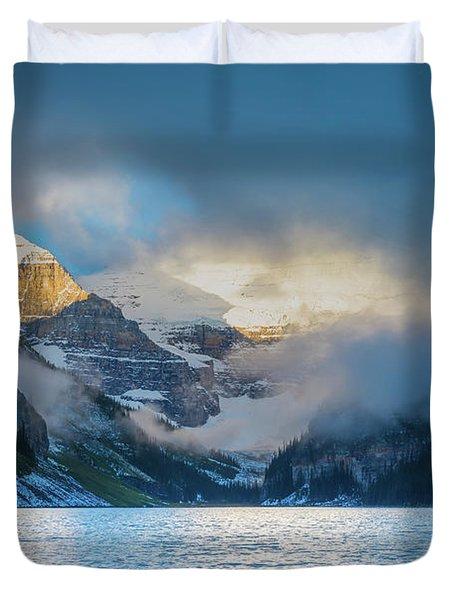 Mountain Drama Duvet Cover