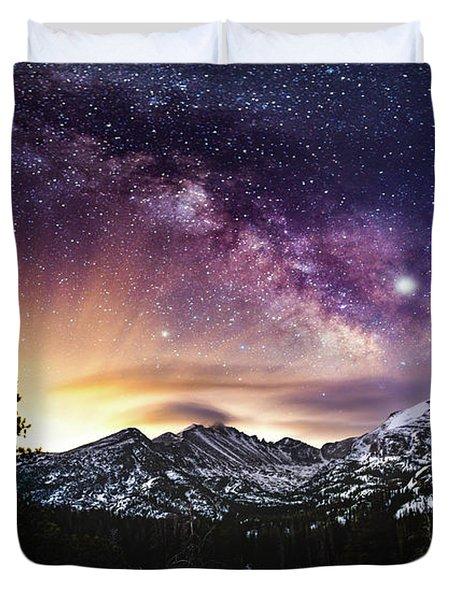 Mountain Dreams Duvet Cover