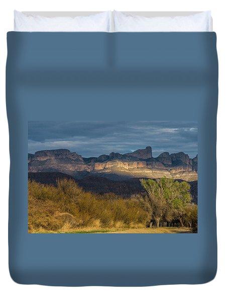 Mountain Illumination Duvet Cover