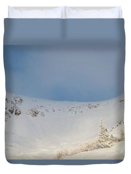 Mountain Light, Tuckerman Ravine Duvet Cover