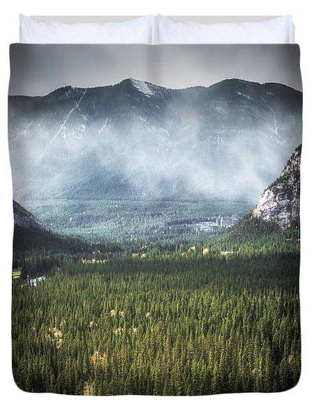 Mountain Valley Duvet Cover