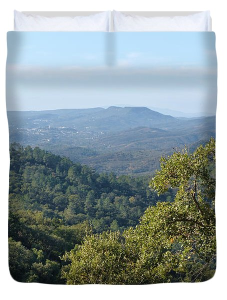 Mountains Of Loule. Serra Do Caldeirao Duvet Cover