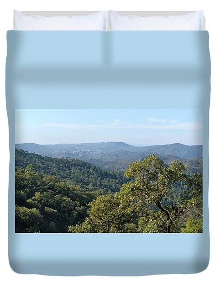 Mountains Of Loule. Serra Do Caldeirao Duvet Cover