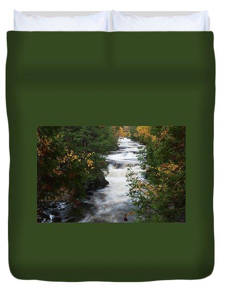 Moxie Stream Duvet Cover