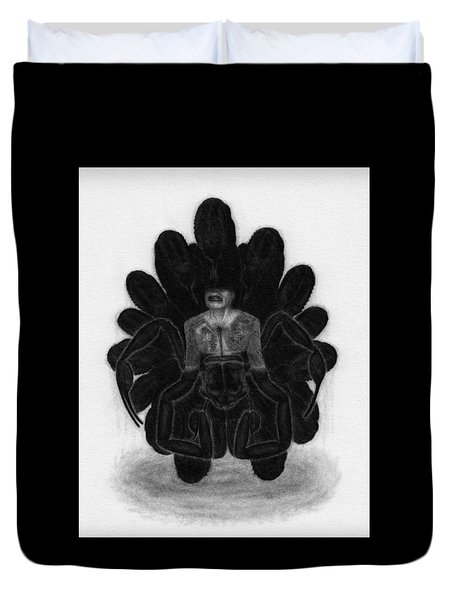 Mr Death - Artwork Duvet Cover