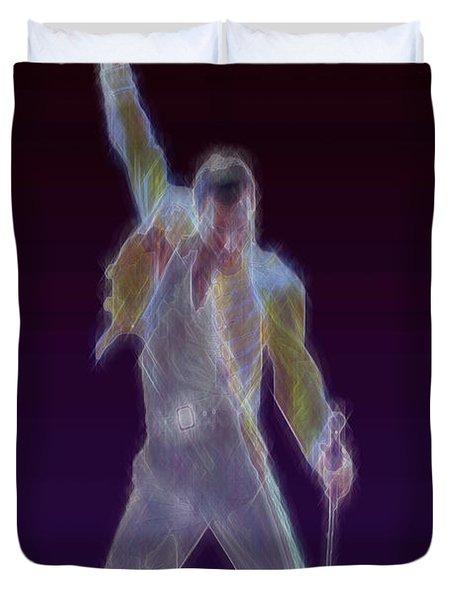Mr. Fahrenheit Duvet Cover