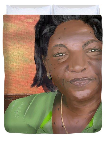 Mrs. Clements Duvet Cover