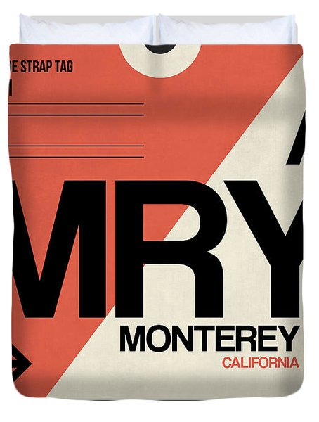 Mry Monterey Luggage Tag I Duvet Cover