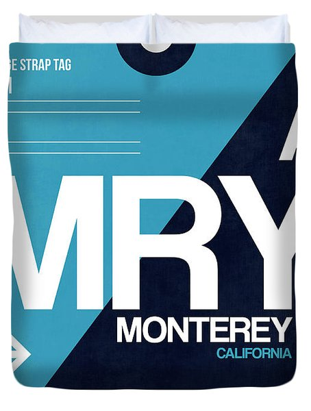 Mry Monterey Luggage Tag II Duvet Cover