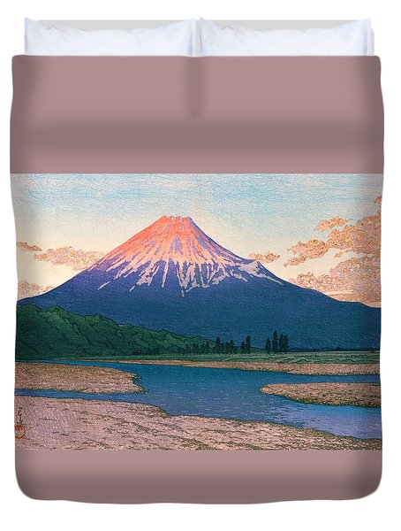 Mt. Fuji Fujikawa - Top Quality Image Edition Duvet Cover