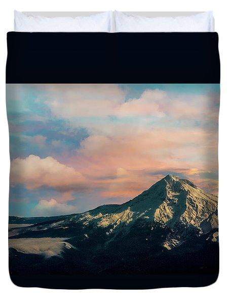Mt Hood Duvet Cover