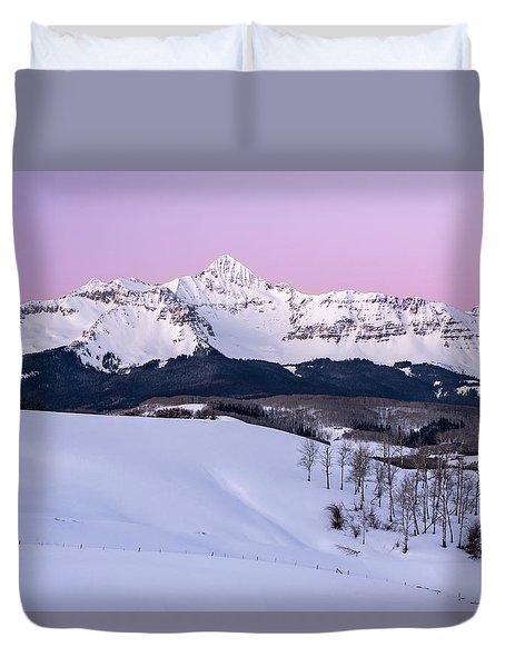 Mt Wilson Duvet Cover