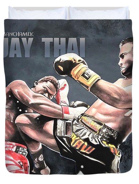 Muay Thai Duvet Cover