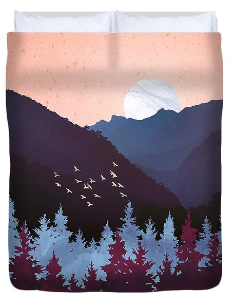 Mulberry Dusk Duvet Cover