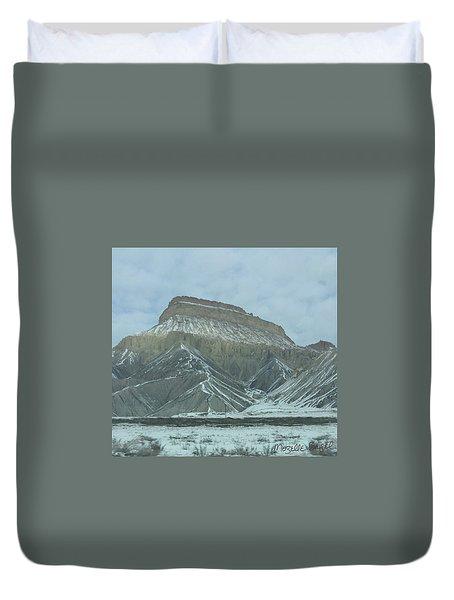 Multi-level Mountains Duvet Cover