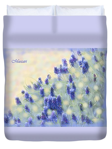 Muscari Morning Duvet Cover