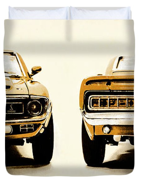 Muscle Machine Duvet Cover