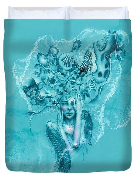 Mushroom Fairy Duvet Cover