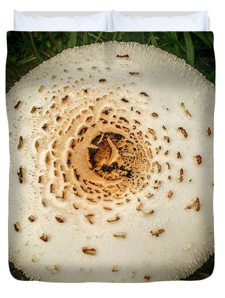 Mushroom Mandala Duvet Cover