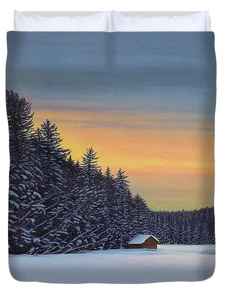 Muskoka Winter Duvet Cover