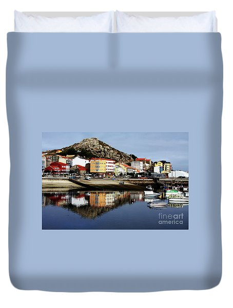 Muxia Camino Reflections Duvet Cover