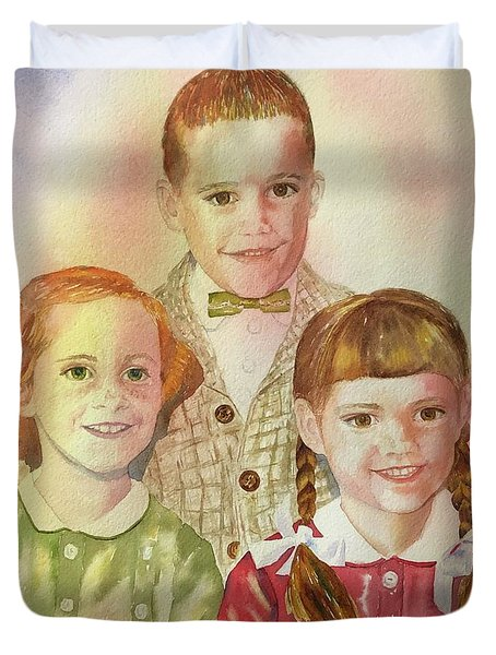 The Latimer Kids Duvet Cover