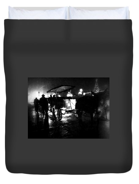 Duvet Cover featuring the photograph My Ride by Amzie Adams