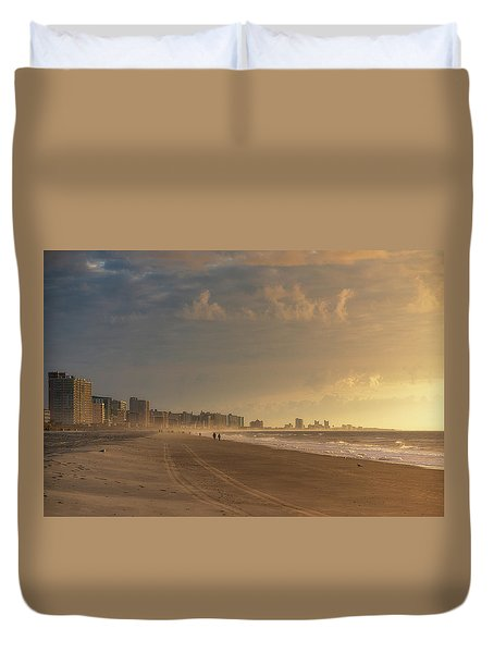 Myrtle Sunrise Duvet Cover