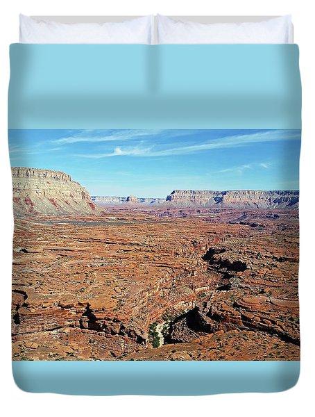 Mysterious Havasupai Canyon Duvet Cover