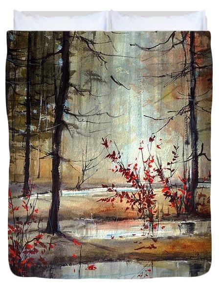 Mystic Forest Duvet Cover